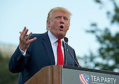 Donald Trump, a candidate for the 2016 Republican nomination for President of the United States, appears at a rally against the Iran Nuclear Deal on the West Lawn of the US Capitol in Washington, DC on Wednesday, September 9, 2015.<br /> Credit: Ron Sachs / CNP<br /> (RESTRICTION: NO New York or New Jersey Newspapers or newspapers within a 75 mile radius of New York City)