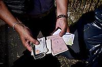 Roma 19 Giugno 2015<br /> Pulizia straordinaria, nell'area archeologica  di Porta Maggiore, del Comitato disoccupati per il Lavoro Minimo Garantito, intervengono nuovamente, perch&egrave;   nessuno ha curato l'area,  dallo scorso intervento dei disoccupati: un anno fa. I disoccupati chiedono al sindaco di Roma Marino di lavorare perch&egrave; il lavoro c'&egrave;. Trovati numerosi portafogli con documenti rubati.<br /> Rome June 19, 2015<br /> Extra cleaning, in the archaeological area of Porta Maggiore, Committee for the unemployed job guaranteed minimum, intervene again, because no one took care of the area, since last intervention is  of the unemployed: a year ago. The unemployed are asking the mayor of Rome Marino to work because the job there is. They found numerous portfolios with stolen documents.