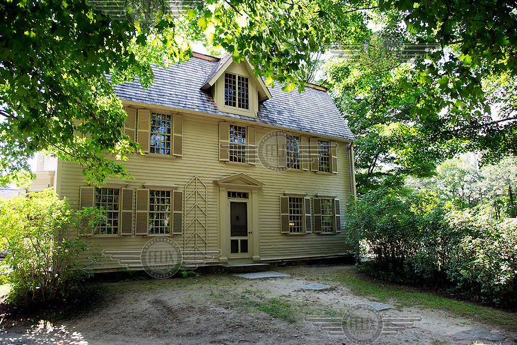 The Olde Manse, built in 1770 for Rev. William Emerson. In 1834 his grandson, Ralph Waldo Emerson, lived in the house where he wrote 'Nature', an essay that set out for the first time, his belief in transcendentalism. Between 1842-1845 another writer, Nathaniel Hawthorne, lived in the manse. Since 1939 it has been keep by a trust and is now open to the public.