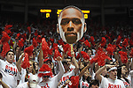 "Ole Miss students vs. Kentucky at the C.M. ""Tad"" Smith Coliseum on Tuesday, January 29, 2013."