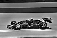 INDIANAPOLIS, IN - MAY 28: Danny Ongais drives his Parnelli VPJ6B/VPJ Cosworth during practice for the Indy 500 at the Indianapolis Motor Speedway in Indianapolis, Indiana, on May 28, 1978.