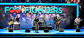 Foo Fighters perform at the 2012 Democratic National Convention in Charlotte, North Carolina on Thursday, September 6, 2012.  .Credit: Ron Sachs / CNP.(RESTRICTION: NO New York or New Jersey Newspapers or newspapers within a 75 mile radius of New York City)