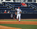 Former Rebel Cody Overbeck at Ole Miss baseball alumni game at Oxford-University Stadium in Oxford, Miss. on Saturday, February 5, 2011.