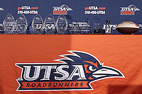 SAN ANTONIO, TX - APRIL 25, 2014: The First Annual UTSA Football Banquet at the Alamodome. (Photo by Jeff Huehn)