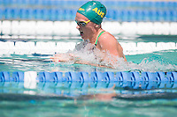 Santa Clara, California - Friday June 3, 2016: Keryn McMaster competes in the Women's 400 Long Course Meter IM event at the Arena Pro Swim Series.