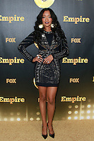 HOLLYWOOD, LOS ANGELES, CA, USA - JANUARY 06: Jennia Fredrique at the Los Angeles Premiere Of FOX's 'Empire' held at ArcLight Cinemas Cinerama Dome on January 6, 2015 in Hollywood, Los Angeles, California, United States. (Photo by David Acosta/Celebrity Monitor)