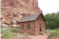 Fruita Scoolhouse Near to Capitol Reef Natlional Park Utah, USA