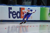 SPEED SKATING: STAVANGER: Sørmarka Arena, 31-01-2016, ISU World Cup, 1000m Men Division A, Pavel Kulizhnikov (RUS), ©photo Martin de Jong