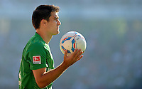 FUSSBALL   1. BUNDESLIGA   SAISON 2011/2012    8. SPIELTAG Hannover 96 - SV Werder Bremen                             02.10.2011 Sokratis PAPASTATHOPOULOS (SV Werder Bremen)