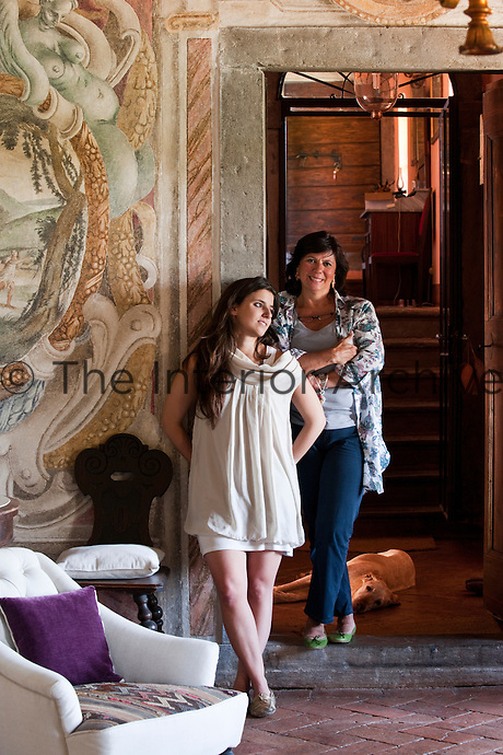 Owner Marianna Guerresco with her daughter Camilla