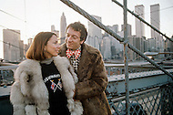 Manhattan, New York - February 23, 1973. Jean Pierre Cassel with wife Sabine Litique. He (27 October 1932 - 19 April 2007) was a French actor who was discovered by actor and director Gene Kelly, and is best known for his roles in Male Companion, by Philippe de Broca, and L' Armée des Ombres (Army of Shadows), the 1969 French film directed by Jean-Pierre Melville.