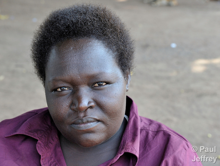Cecilia Oba, a member of the Southern Sudan Parliament. NOTE: In July 2011, Southern Sudan became the independent country of South Sudan