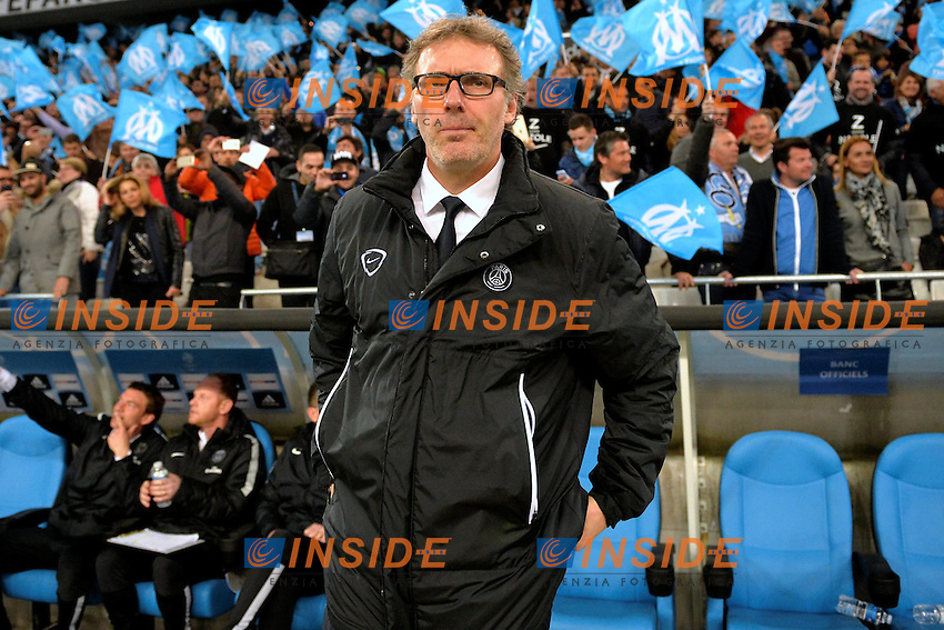 Laurent Blanc (psg) <br /> Football Calcio 2014/2015<br /> Ligue 1 Francia Stadio VelodromeOlympique Marsiglia - Paris Saint Germain <br /> Foto Panoramic / Insidefoto <br /> ITALY ONLY