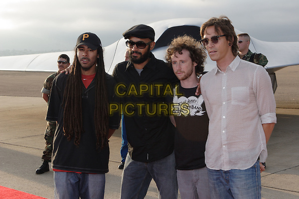 """INCUBUS.World Film Premiere of Columbia Pictures' """"Stealth"""" .held at the Naval Air Station North Island (NASNI), Coronado, California, USA,17 July 2005..half length band.Ref: ADM.www.capitalpictures.com.sales@capitalpictures.com.©Zach Lipp /AdMedia/Capital Pictures."""