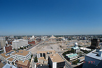 1997 APRIL 03..Redevelopment..Macarthur Center.Downtown North (R-8)..LOOKING NORTH.SUPERWIDE...NEG#.NRHA#..
