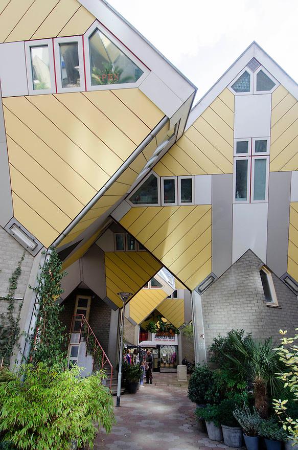 10okt2014<br /> De kubus woningen van Piet Blom inRotterdam<br /> (c)renee teunis