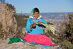 Tarahumara indian, Divisadero, Copper Canyon, Chihuahua, Mexico