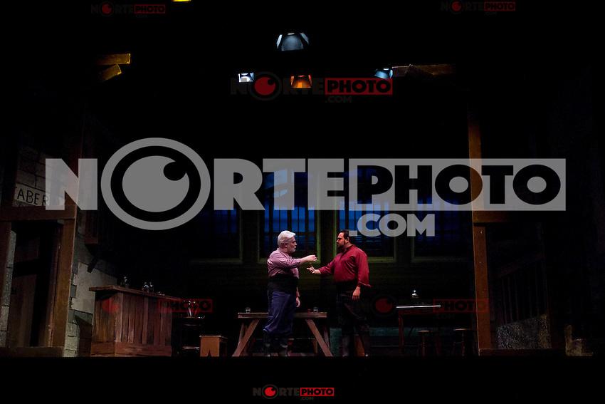 31.07.2012. Press Pass at the Teatro Cofidis in Madrid, the Zarzuela 'The port tavern'. (Alterphotos/Marta Gonzalez) /NortePhoto.com<br /> <br /> **CREDITO*OBLIGATORIO** <br /> *No*Venta*A*Terceros*<br /> *No*Sale*So*third*<br /> *** No Se Permite Hacer Archivo**<br /> *No*Sale*So*third*