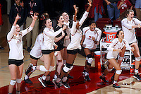 Stanford Volleyball W vs Oregon, November 23, 2016