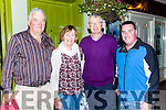 Joe Walsh, Marie and Davey Walsh and James Dignan at the sing session in Brownes bar Castleisland at the Padraig O'Keeffe festival on Sunday