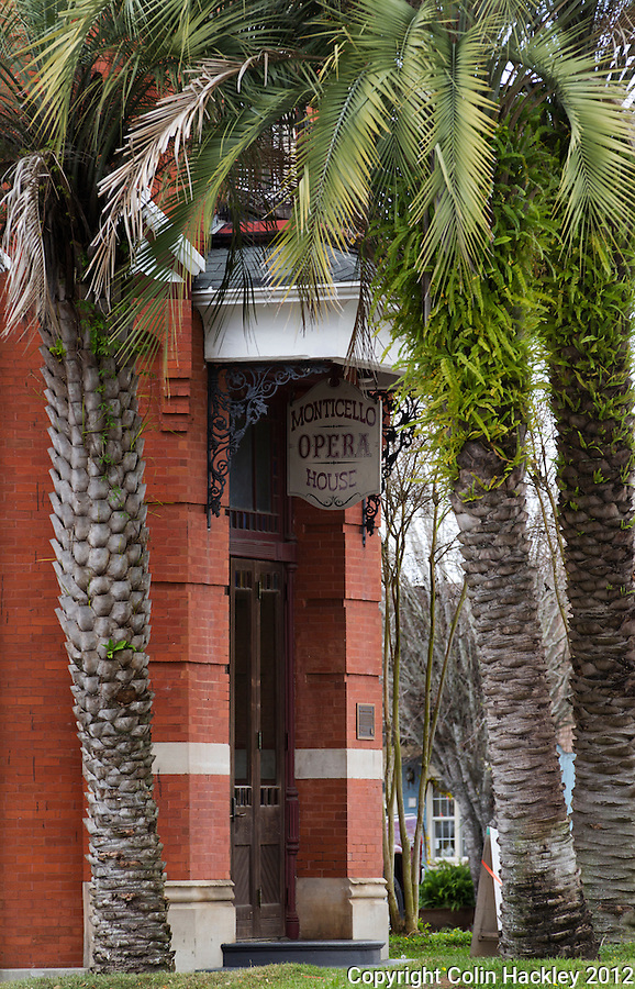 THE PERKINS BLOCK: Built in the 1890's by businessman John H. Perkins the second floor of the building features a restored 380-seat opera house..SOURCE: Historic Jefferson County Walking Tour Brochure.COLIN HACKLEY PHOTO