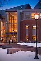 The Davis Center, Winter UVM Campus The UVM Davis Center
