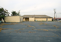 1991 October ..Conservation.MidTown Industrial..EXISTING BUSINESS.BOY SCOUTS.LOOKING WEST FROM PARKING LOT...NEG#.NRHA#..