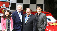 Denise Ream; Michael Caine; John Lasseter; Jason Isaacs Cars 2 UK Premiere, Whitehall Gardens, London, UK, 17 July 2011:  Contact: Rich@Piqtured.com +44(0)7941 079620 (Picture by Richard Goldschmidt)