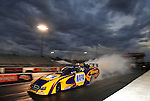 Jan. 18, 2012; Jupiter, FL, USA: NHRA funny car driver Ron Capps during testing at the PRO Winter Warmup at Palm Beach International Raceway. Mandatory Credit: Mark J. Rebilas-