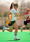 25 April 2009: University of Vermont Catamount midfielder Caitie Izzo, a Freshman from Longmeadow, MA, in action against the Stony Brook University Seawolves at Moulton Winder Field in Burlington, Vermont. The Lady Cats defeated the visiting Seawolves 19-11 on Seniors Day, Vermont's last home game of the 2009 season. Mandatory Photo Credit: Ed Wolfstein Photo