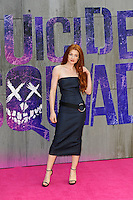 LONDON, ENGLAND - AUGUST 3: Nicola Roberts attending the 'Suicide Squad' European Premiere at Odeon Cinema, Leicester Square on August 3, 2016 in London, England.<br /> CAP/MAR<br /> &copy;MAR/Capital Pictures /MediaPunch ***NORTH AND SOUTH AMERICAS ONLY***