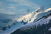 Mount Coville, Chugach mountains, Chugach National forest, Prince William Sound, southcentral, Alaska.