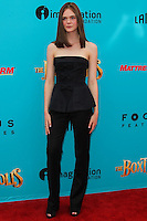 UNIVERSAL CITY, CA, USA - SEPTEMBER 21: Elle Fanning arrives at the Los Angeles Premiere Of Focus Features' 'The Boxtrolls' held at Universal CityWalk on September 21, 2014 in Universal City, California, United States. (Photo by Celebrity Monitor)