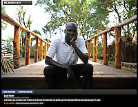 Screengrab of &quot;South Sudan: Child Soildiers&quot; published in El Pais