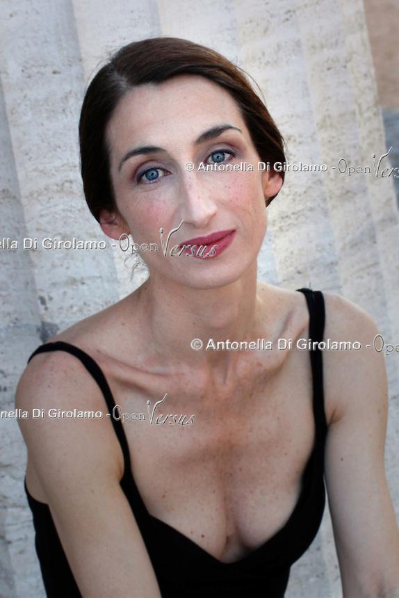 """Giselda Volodi.Attrice nel film """"Viola di mare"""""""