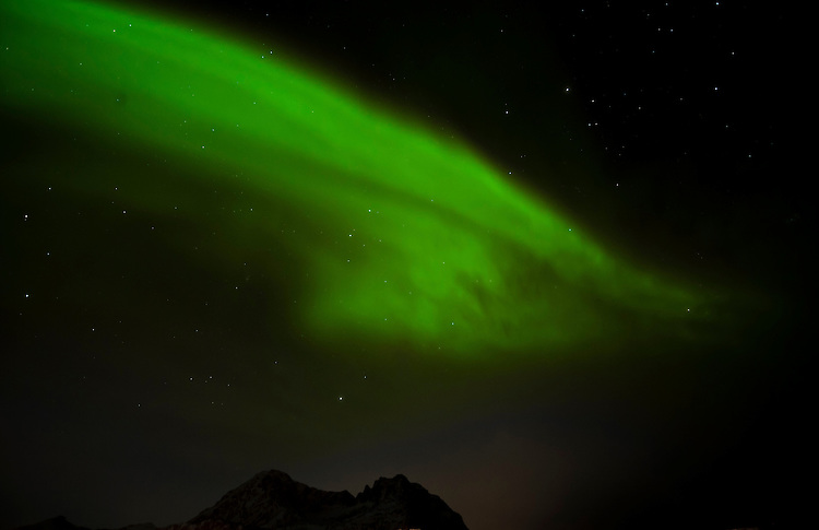 Northern lights from Ballesvika, Senja, Norway