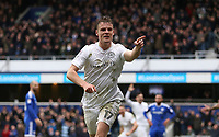 Queens Park Rangers' Matt Smith celerbates his sides second goal<br /> <br /> Photographer /Rob NewellCameraSport<br /> <br /> The EFL Sky Bet Championship - Queens Park Rangers v Cardiff City - Saturday 4th March 2017 - Loftus Road - London<br /> <br /> World Copyright &copy; 2017 CameraSport. All rights reserved. 43 Linden Ave. Countesthorpe. Leicester. England. LE8 5PG - Tel: +44 (0) 116 277 4147 - admin@camerasport.com - www.camerasport.com