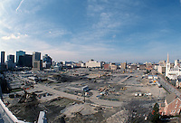 1997 FEBRUARY 06..Redevelopment..Macarthur Center.Downtown North (R-8)..LOOKING WEST.SUPERWIDE...NEG#.NRHA#..