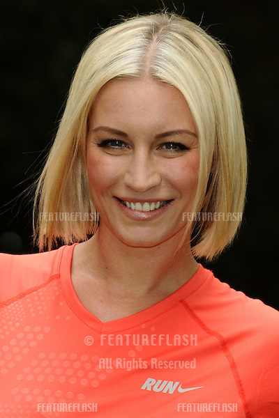 Denise Van Outen at the launch of the Vodafone JustTextGiving charity challenges, London. 05/09/2011  Picture by: Steve Vas / Featureflash