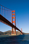 San Francisco, California, east of the Golden Gate Bridge along the Golden Gate Promenade.  Photo copyright Lee Foster. Photo # 1-casanf76322.
