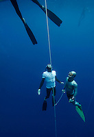 "Freediving competition ""Bizzy Blue Hole"" in Dahab, Sinai, Egypt. ©Fredrik Naumann/Felix Features"