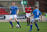 St Johnstone Academy v Manchester Utd Academy&hellip;.06.05.16  McDiarmid Park, Perth<br />Ben Quigley<br />Picture by Graeme Hart.<br />Copyright Perthshire Picture Agency<br />Tel: 01738 623350  Mobile: 07990 594431
