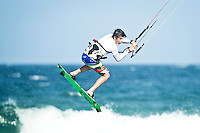 The last leg of the 2010 PKRA World Kiteboarding Tour has come to the Gold Coast, Australia - 2010 World Champion Andy Yates in action. Andy ended up placing 2nd in the single elimination freestyle.