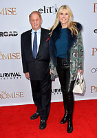 Mike Medavoy &amp; Irena Ferris at the premiere for &quot;The Promise&quot; at the TCL Chinese Theatre, Hollywood. Los Angeles, USA 12 April  2017<br /> Picture: Paul Smith/Featureflash/SilverHub 0208 004 5359 sales@silverhubmedia.com