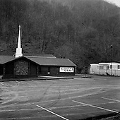 Stirrat, West Virginia.USA .January 16, 2005..Local Church.