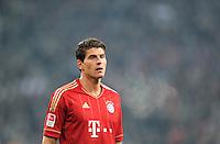 FUSSBALL   1. BUNDESLIGA  SAISON 2011/2012   18.  Spieltag   20.01.2012 Borussia Moenchengladbach   - FC Bayern Muenchen  Mario Gomez (FC Bayern Muenchen)