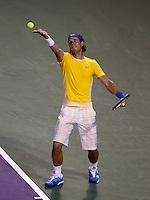 Rafael NADAL (ESP) against Taylor DENT (USA) in the second round of the men's singles. Nadal beat Dent 6-4 6-3..International Tennis - 2010 ATP World Tour - Sony Ericsson Open - Crandon Park Tennis Center - Key Biscayne - Miami - Florida - USA - Fri 26 Mar 2010..© Frey - Amn Images, Level 1, Barry House, 20-22 Worple Road, London, SW19 4DH, UK .Tel - +44 20 8947 0100.Fax -+44 20 8947 0117