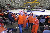 SCHAATSEN: HEERENVEEN: IJsstadion Thialf, 13-02-15, World Single Distances Speed Skating Championships, Overzicht, ©foto Martin de Jong