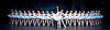 The St Petersburg Ballet Theatre Season <br /> at the London Coliseum <br /> press photocall <br /> 13th August, 1.30pm.<br /> Swan Lake <br />  Irina Kolesnikova <br />  Denis Rodkin<br /> and 24 swans of the corps de ballet <br /> <br /> <br /> Photograph by Elliott Franks <br /> Image licensed to Elliott Franks Photography Services