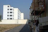 22 LUG 2004 Bollate: il carcere milanese di Bollate.JUL 22 2004 The prison of Bollate near Milano.